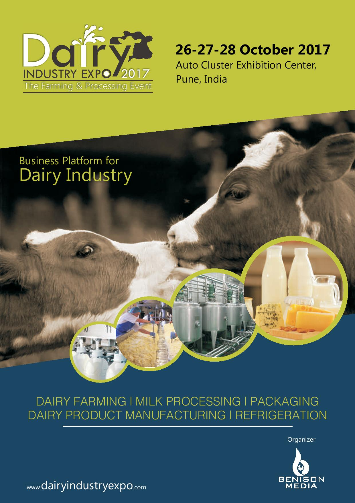 Exhibition Stall Booking Form : Dairy industry expo  oct pune india
