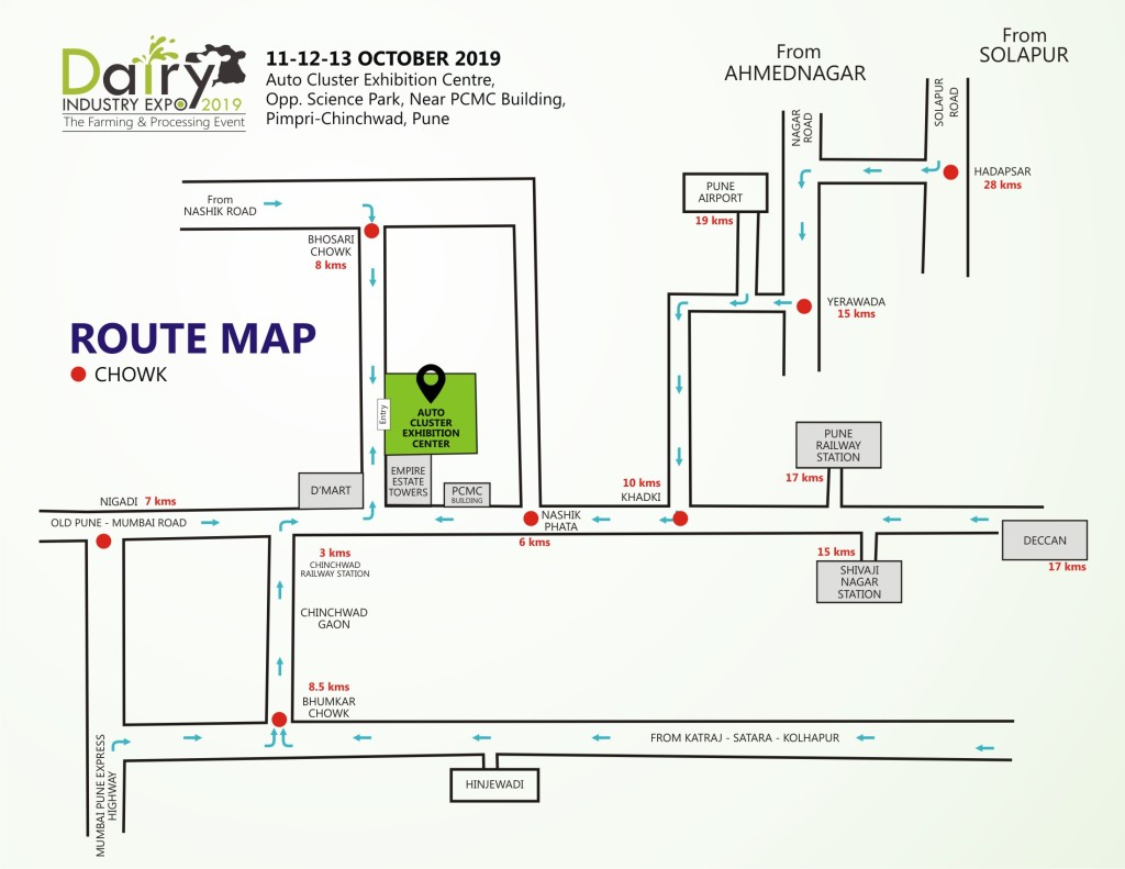 Route Map DIE 19